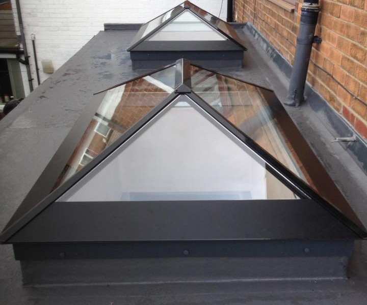 slimline glass rooflight