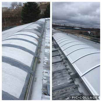 Barrel Vault Rooflights Clydebank